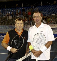 Johan wins in match with Ivan Lendl at Delray Beach Champions Tour