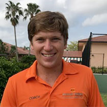 Mateo Rivas - Tennis Coach for Johan Kriek Tennis Academy