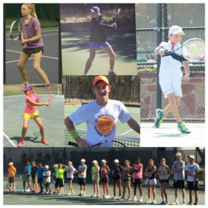Junior Tennis Training with Johan Kriek