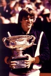 Johan Kriek wins the Austrailian Open