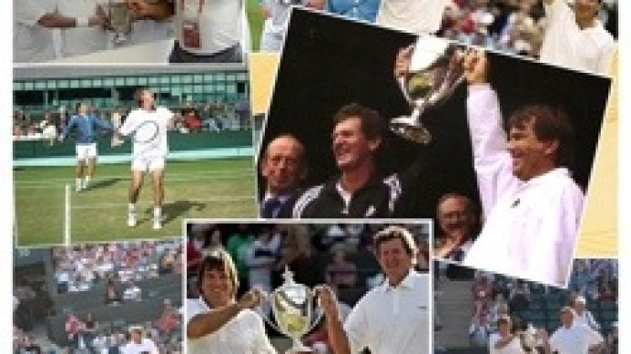 Johan Kriek & Kevin Curren Wimbledon tribute