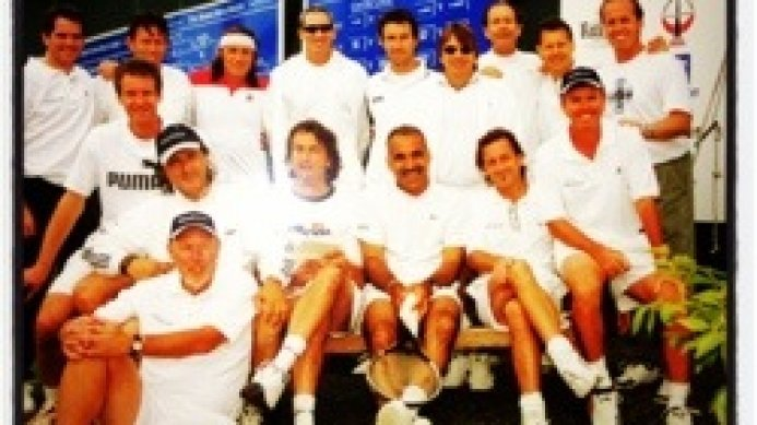 Tennis Greats at Hurlingham in the early 2000's