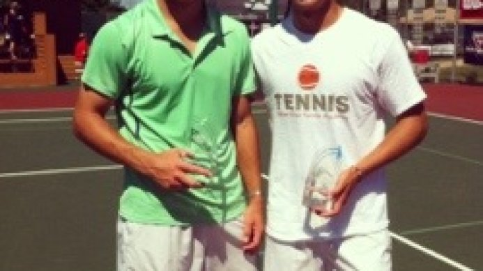 Congratulations Keith-Patrick Crowley, ITF doubles champion
