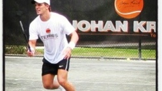 Keith-Patrick Crowley at Costa Mesa Pro Classic ITF Futures event