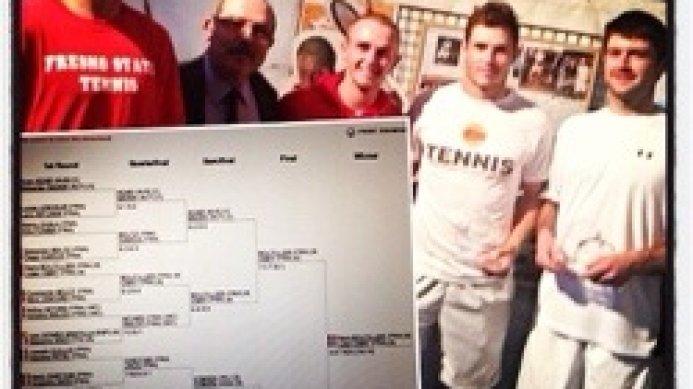 Dean O'Brien reaches the ITF 15K Futures final