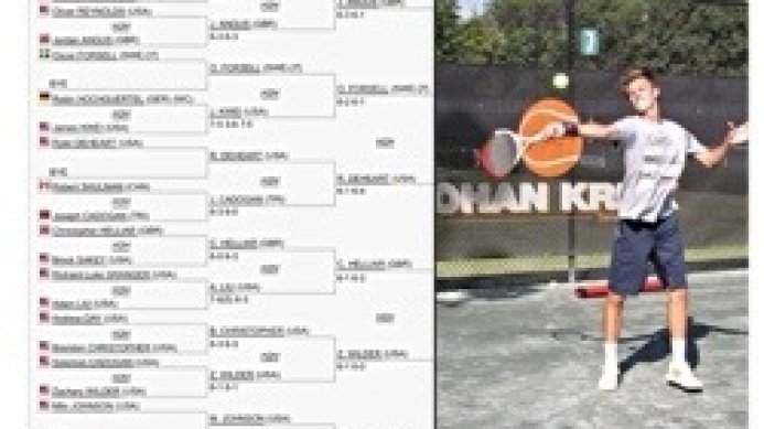 Adam Zaorski advances at the ITF Alabama 10K Pro Circuit tournament