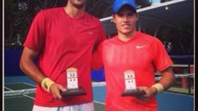 Dean O'Brien wins the 15K Popayan Colombia ITF doubles tournament