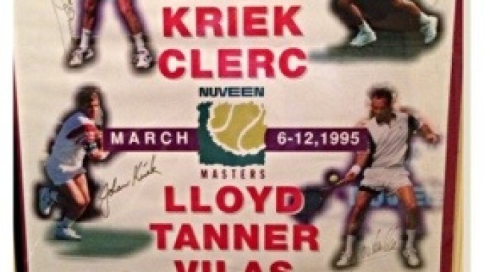 #tbt Tennis Legends at the 1995 Nuveen Masters