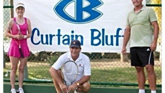 Curtain Bluff Fantasy Camp with Johan Kriek, Tracy Austin & Taylor Dent