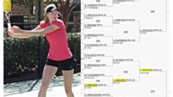 Luda Vasilyeva reaches ITF ProCircuit semi-final