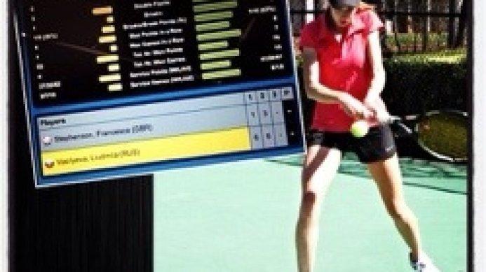 ITF 10K Egypt: Luda Vasilyeva through to the semi-final
