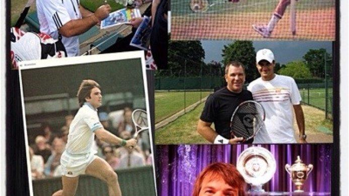 #tbt Johan Kriek – Wimbledon's Last 8 Club Member