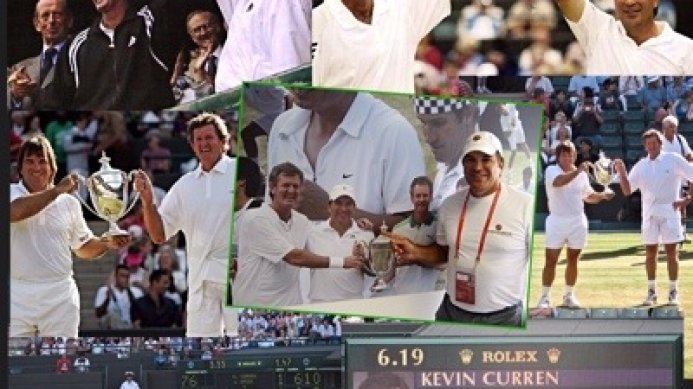 #tbt Four-time Wimbledon Legends Event Champions: Johan Kriek & Kevin Curren