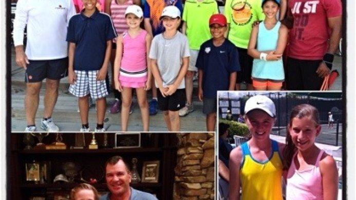 This week at the Johan Kriek Tennis Academy