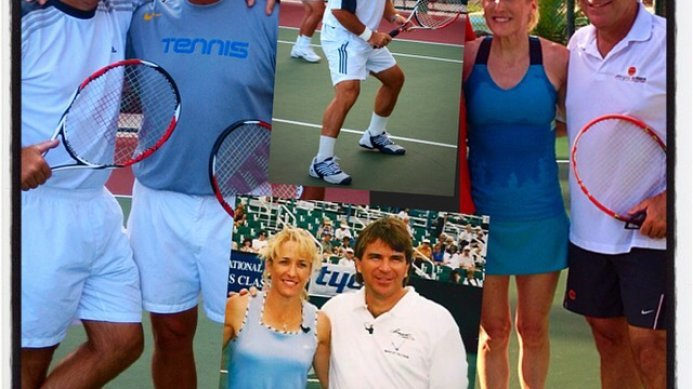 Curtain Bluff Fantasy Tennis Camp with Johan Kriek, Tom Gullikson & Tracy Austin