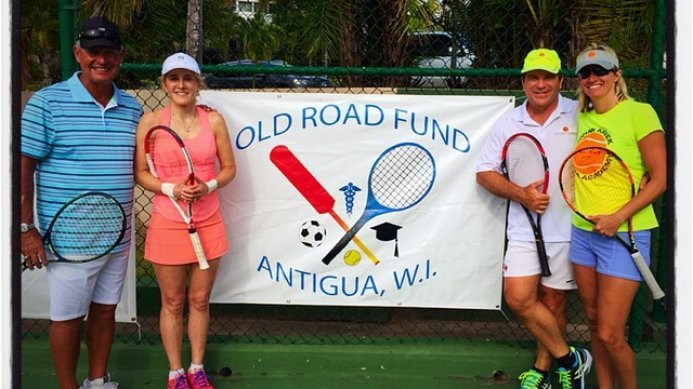 Johan & Daga Kriek vs Tracy Austin & Tom Gullikson at Curtain Bluff