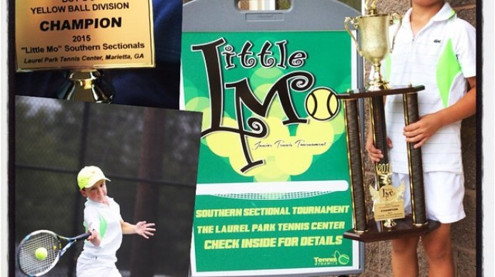 Mark Agafonov – Little Mo Singles Champion