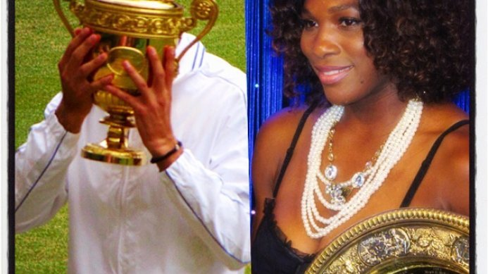 Congratulations to Novak Djokovic & Serena Williams, Wimbledon 2015 Champions