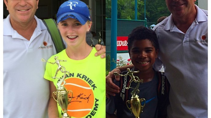 Jenna Thompson & Noah MaDonald are The North Carolina Clay Court State Champions