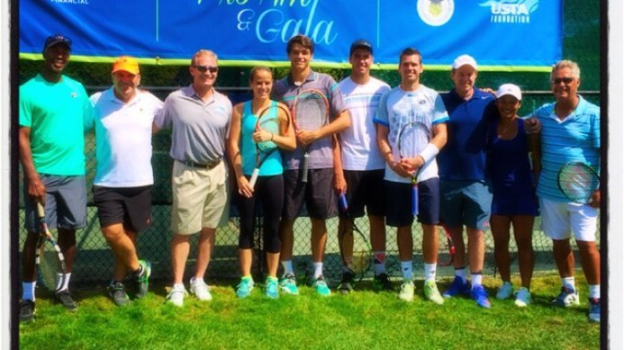 Johan Kriek & Other Tennis Stars at the 5th Annual CT Pro-Am