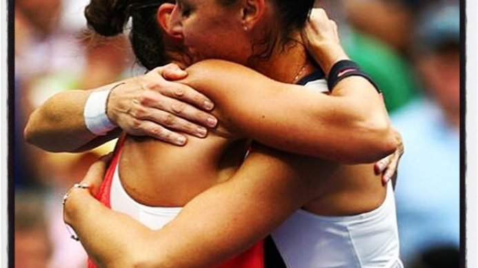 Congratulations to Flavia Pennetta and Roberta Vinci