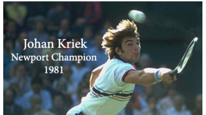 #tbt Johan Kriek as Mentioned on Twitter This Week