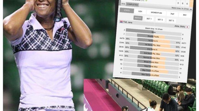 Shiho Akita Through to ITF 100K Tokyo Quarterfinals
