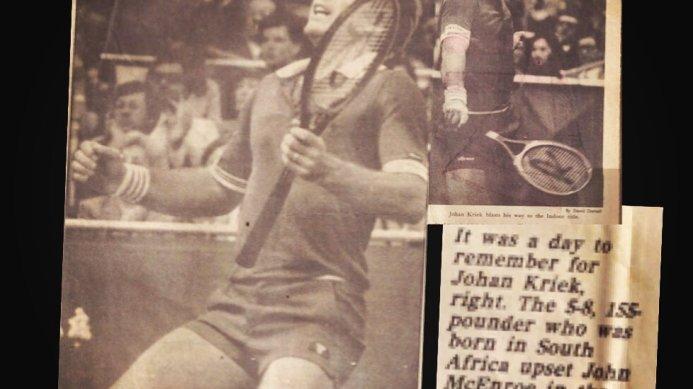 #tbt Memphis 1982: Kriek Stuns McEnroe in Memphis