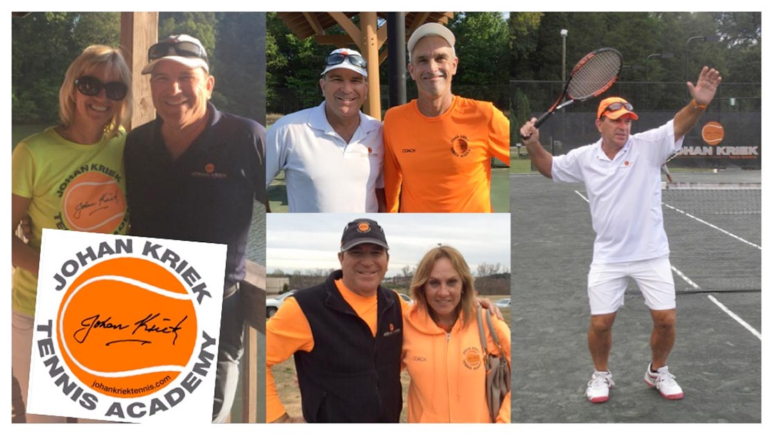 Tennis Coaches of Johan Kriek Tennis Academy