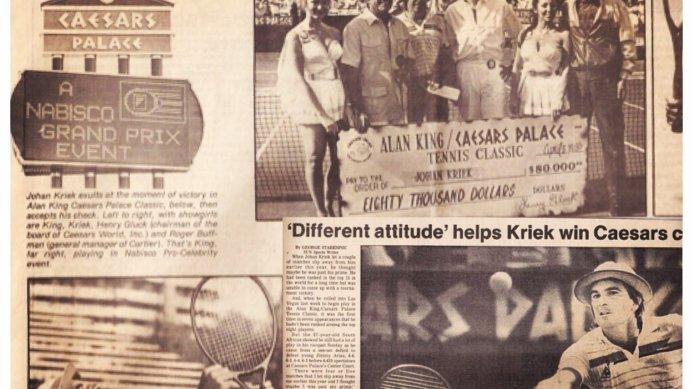 #tbt May 1985: Johan Kriek Wins Las Vegas