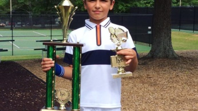 "Mark Agafonov – ""Little Mo"" Southern Sectionals Singles & Doubles Champion"