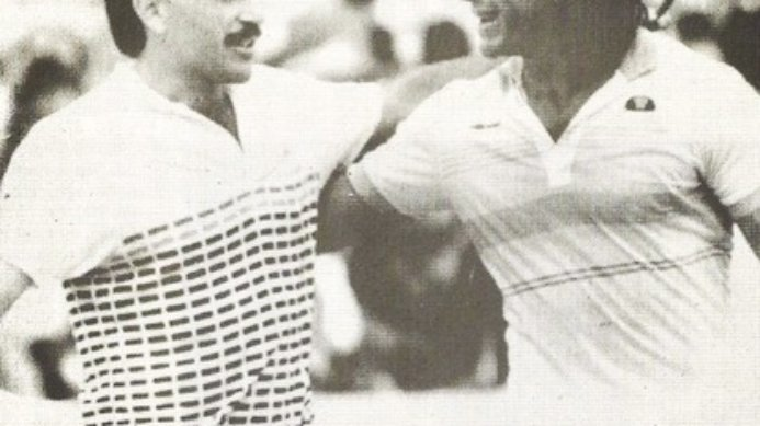 #tbt 30 Years Ago Kriek Beat Vilas To Reach Roland Garros Semi-Finals