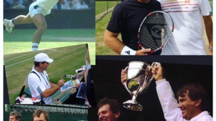 #tbt Wimbledon countdown with Johan Kriek, Kevin Curren & Roger Federer