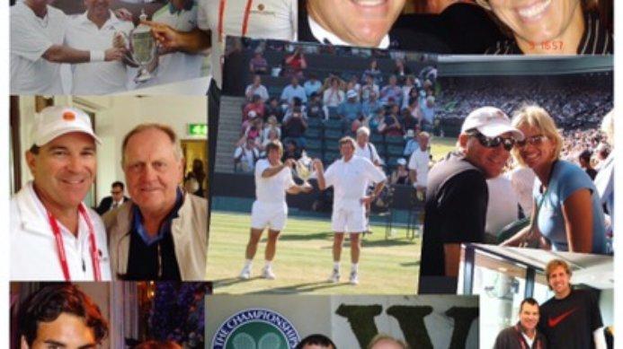 #fbf Johan & Daga Kriek's Wimbledon Memories