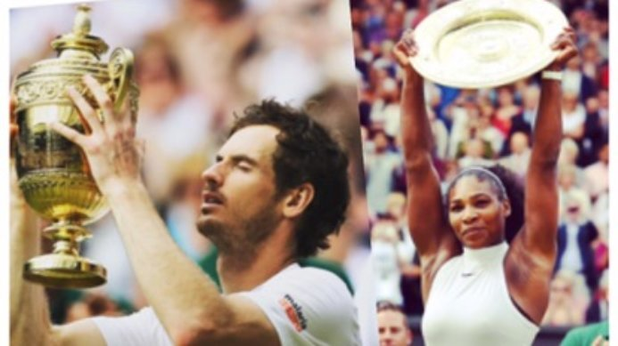 Congratulations to Andy Murray and Serena Williams