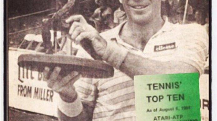 #tbt August 17, 1984 Johan Kriek Wins Livingston NJ