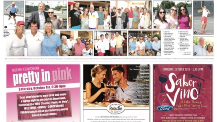 JKTA at PGA Grand Opening Event Featured in the latest Florida Weekly Edition