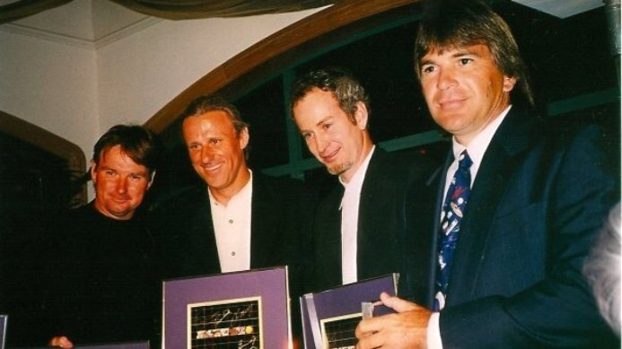 #tbt Kriek, McEnroe, Borg, Connors and Others To Be Honored at This Years Masters Event