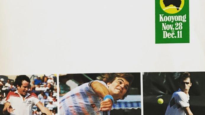 #tbt Australian Open Countdown with Johan Kriek