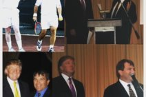 #fbf Memories of Johan Kriek with the New President of the USA – Donald Trump