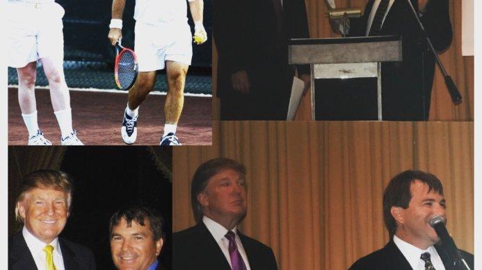 #fbf Memories of Johan Kriek with the New President of the USA – Donald Trump