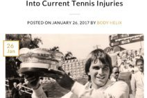 Johan Kriek Talks to BODY HELIX About Tennis Injuries