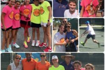 Johan Kriek and the JKTA Family At a Junior Tournament in Florida