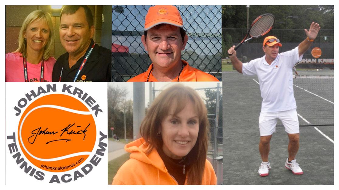 Tennis Coaching with Johan Kriek and His Team