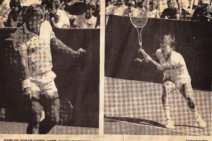 #tbt March 1985 Johan Kriek vs Jimmy Connors at the Paine Webber Classic