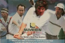 #tbt March 1998 Nuveen Masters: Kriek, Borg, Connors and McEnroe