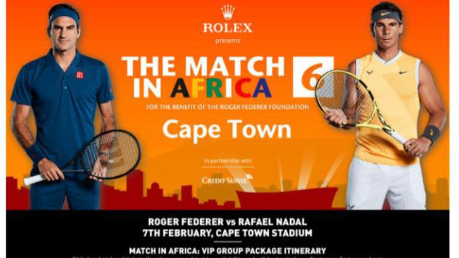 The Match In Africa Roger Federer Vs Rafael Nadal Cape Town